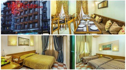 Хотел Aegeon 3*, Солун, Гърция! Нощувка + закуска и Безплатно дете до 10.99 г. на цени от 79.90 лв. на човек