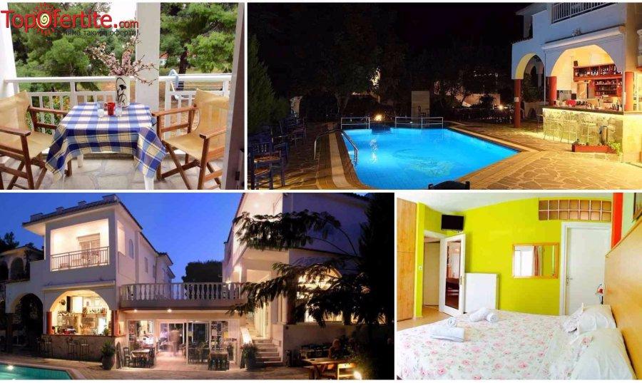 Хотел Melissa Gold Coast, Хакидики, Гърция, първа линия, РАННИ ЗАПИСВАНИЯ! Нощувка + закуска, басейн и безплатно дете до 12,99г. на цени от 29,80 лв. на човек