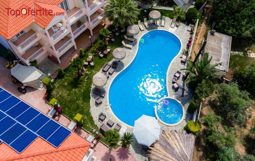 РАННИ ЗАПИСВАНИЯ за Potos Hotel 3*, Тасос, Гърция! Нощувка + закуска, басейн и безплатно дете до 5,99г. на цени от 29,30 лв на човек