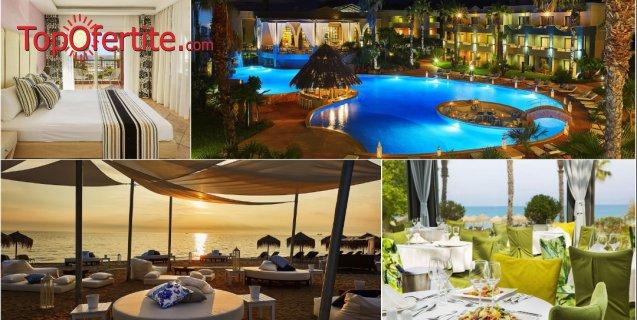 Ilio Mare Beach Hotel 5*, Скала Прину, остров Тасос, Гърция, първа линия, РАННИ ЗАПИСВАНИЯ! Нощувка + закуска, вечеря и ползване на басейн на цени от 68,60 лв. на човек