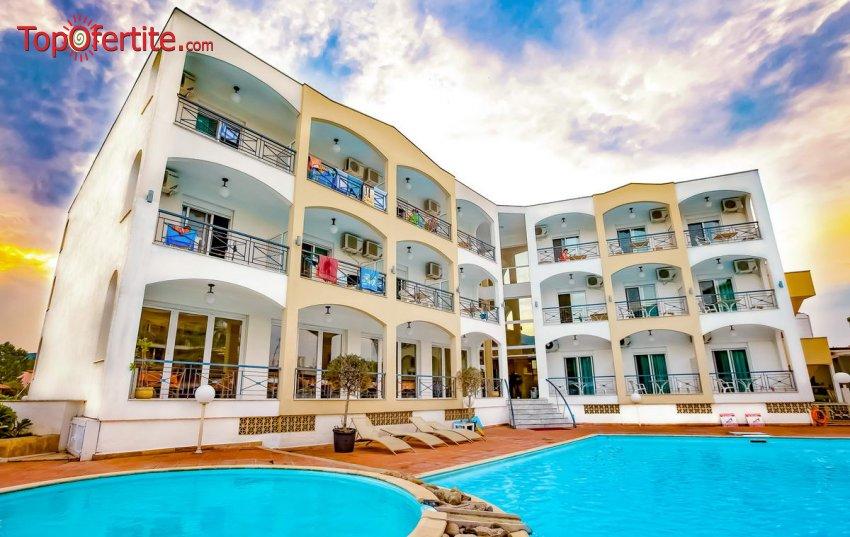 РАННИ ЗАПИСВАНИЯ! Хотел Stavros Beach 3*, Ставрос, Халкидики, Гърция! Нощувка + закуска, вечеря и ползване на басейн на цени от 62 лв на човек