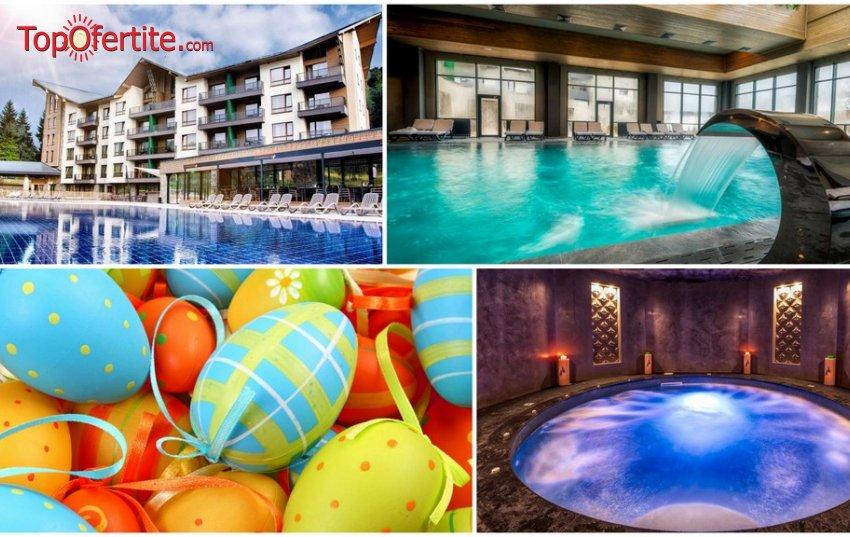 Хотел Арте СПА и Парк 5*, Велинград за Великден! Ранни записвания! 3 или 4 нощувки + закуски, вечери, детска анимация и Уелнес пакет на цени от 475,20 лв. на човек