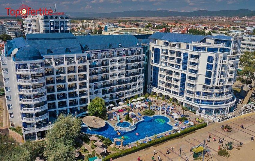 Хотел Чайка Ризорт 4*, Слънчев бряг, Първа линия! Ранни записвания! Нощувка на база Аll inclusive + 2 външни басейна на цени от 52 лв на човек