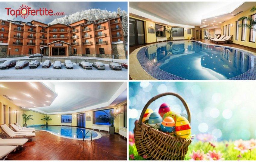 Хотел Bellevue Ski & SPA 4*, Пампорово за Априлска ваканция и Великден! 3, 4 или 5 Нощувки + закуски, вечери, великденски обяд на 08.04 и специален Спа пакет на цени от 180 лв. на човек