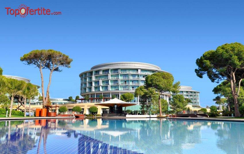 Хотел CALISTA LUXURY RESORT 5 *, Белек, Турция,  4 или 7 нощувки на база FB+,  самолет, летищни такси, трансфер на цени от 1486,50 лв на човек