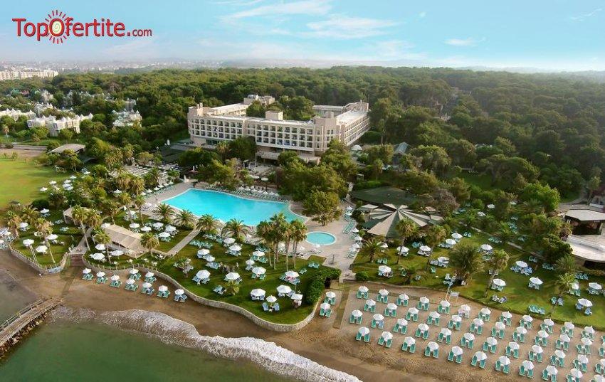 TURQUOISE HOTEL SIDE 5*, Сиде, Турция, първа линия! 4 или 7 нощувки на база ULTRA All Inclusive + самолет, летищни такси, трансфер на цени от 947,50 лв на човек