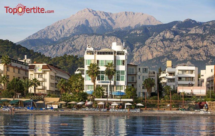 Olimpos Beach Hotel 3*, Анталия, Турция! 4 или 7 нощувки на база All Inclusive + самолет, летищни такси и трансфер на цени от 468.50 лв на човек