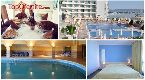 Хотел Феста Панорама 4*, Несебър Първа линия! Ранни записвания! Нощувка на база All inclusive + вътрешен и външен басейн на цени от 61,20 лв на човек