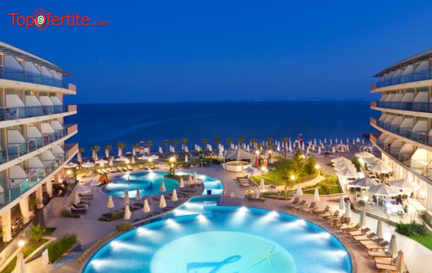 Хотел Зорница Сендс СПА 4*, Елените! Ранни записвания! Нощувка + закуска, обяд, вечеря, чадър и шезлонг на плажа и басейна на цени от 62 лв. на човек