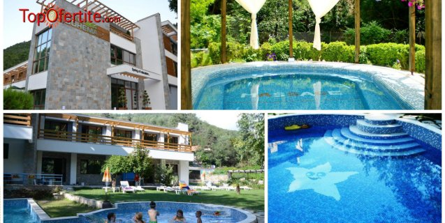 Хотел Бохема СПА 3*, село Огняново! 1 нощувка + закуска, вечеря, 3 басейна с топла минерална вода и Уелнес пакет само за 40 лв на човек