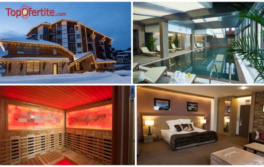 Хотел Амира 5*, Банско до 19.03!  Нощувка + закуска, вътрешен плувен басейн, СПА пакет и опция за вечеря на цени от 88 лв. на човек