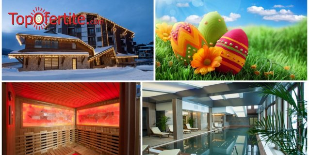 Хотел Амира 5*, Банско за Великден! 3, 4 или 5 нощувки + закуски, вечери, празничен Великденски обяд, вътрешен плувен басейн и СПА пакет на цени от 267 лв. на човек