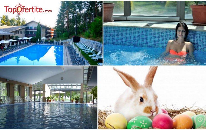 Хотел Велина 4*, Велинград за Великден! 3 нощувки + закуски, празничен обяд 08.04, 2 минерални басейна и СПА пакет на цени от 249 лв. на човек
