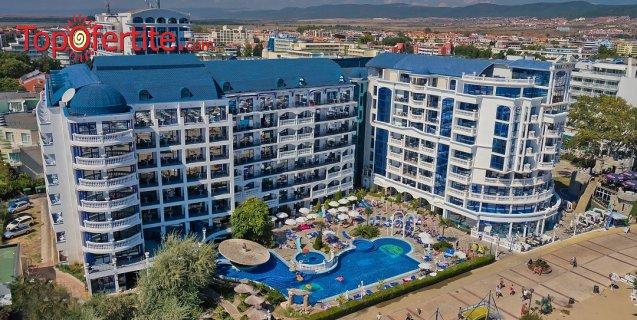 Хотел Чайка Ризорт 4*, Слънчев бряг, Първа линия! Ранни записвания! Нощувка на база Аll inclusive + 2 външни басейна на цени от 56,70 лв на човек