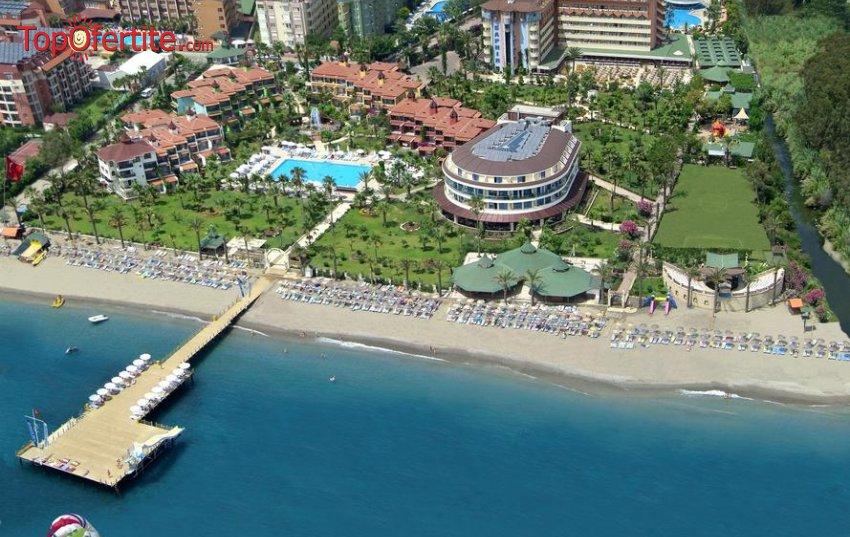 Saphir Hotel 4*, Алания, Турция! 7 нощувки на база All Inclusive+ + самолет, летищни такси и трансфер на цени от 760.50 лв. на човек
