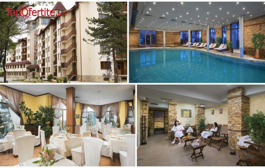 Хотел СПА Клуб Бор 4*, Велинград! Нощувка + закуска, вечеря и Уелнес пакет само за 55 лв на човек