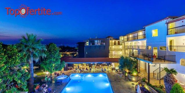LAST MINUTE! хотел Kriopigi 4*, Халкидики, Гърция! Нощувка + закуска, вечеря и басейн и безплатно дете до 5,99г. на цени от 50.50 лв на човек