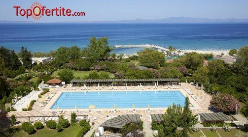 SUPER LAST MINUTE хотел Athos Palace 4*, Халкидики, Гърция за Великден! 2 или 3 нощувки + закуски, вечери, басейн и безплатно дете до 11 г. на цени от 215 лв. на човек