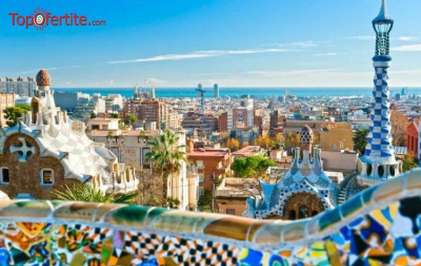 10-дневна екскурзия до Барселона с Френска ривиера и Прованса с автобус! 9 нощувки + 9 закуски и 4 вечери, транспорт и транспортни разходи + екскурзоводско обслужване само за 960 лв
