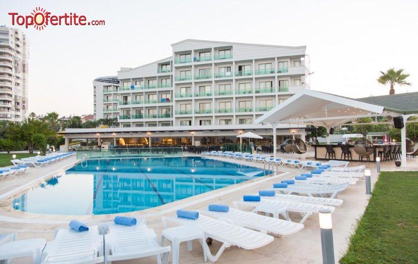 Club Hotel Falcon 4*, Анталия, Турция! 4 или 7 нощувки на база All Inclusive + самолет, летищни такси и трансфер на цени от 584 лв на човек