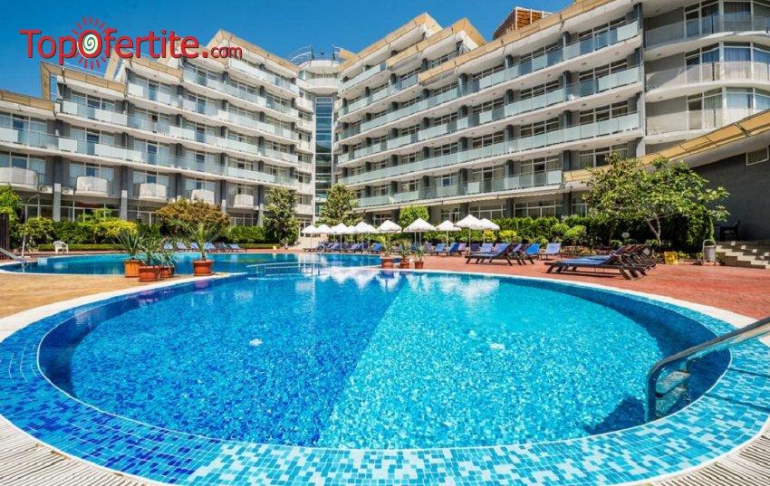 Хотел Перла 3*, Слънчев Бряг! Нощувка на база All inclusive + басейн със шезлонг на цени от 56 лв. на човек
