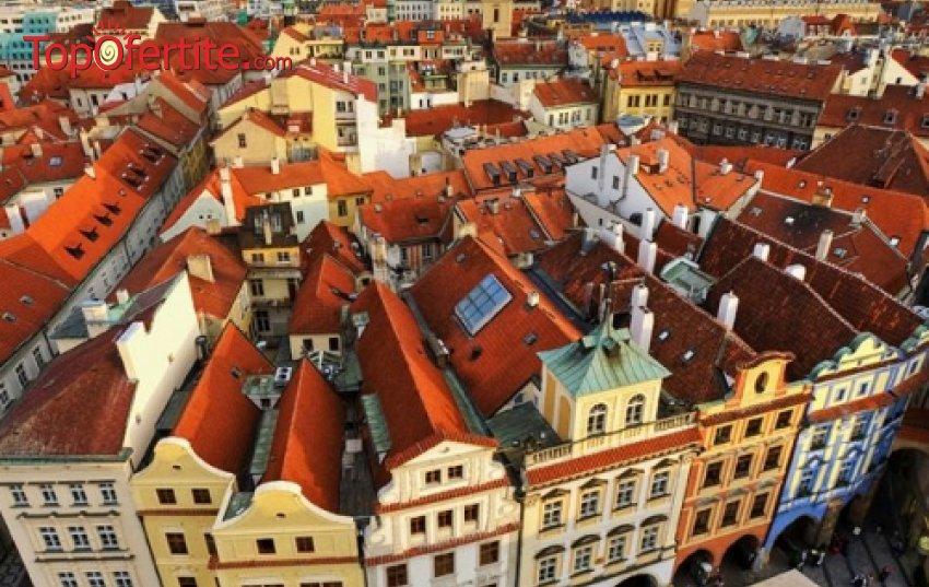 МАЙСКИ ПРАЗНИЦИ в Златна Прага! 5-дневна екскурзия с 4 нощувки + закуски, самолет, трансфери, пешеходна обиколка и екскурзоводско обслужване само за 785 лв на човек