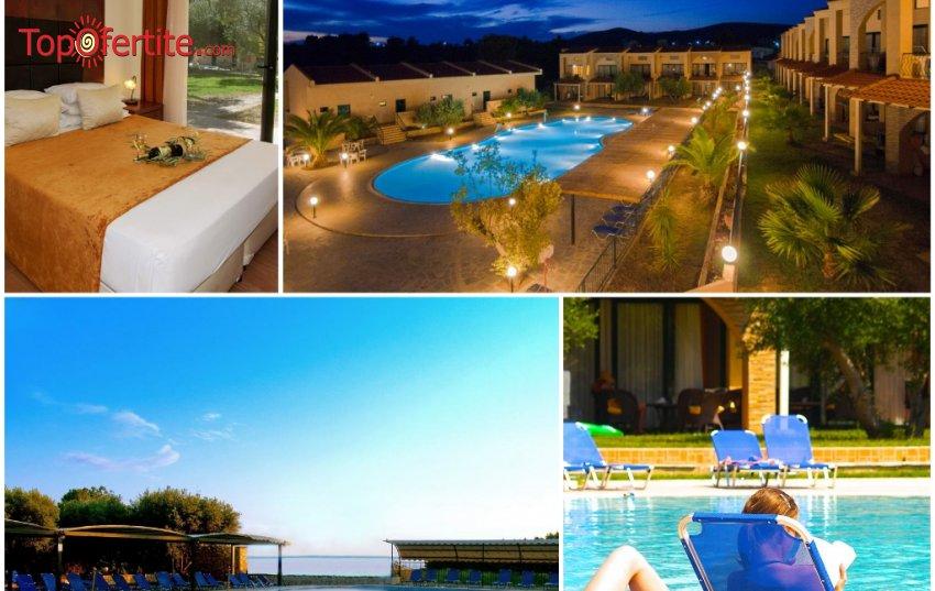 LAST MINUTE ЗА ГЕРГЬОВДЕН! Village Mare 4*, Халкидики, Гърция! Нощувка + закуска, вечеря и басейн С УЧАСТИЕТО НА ЯНИЦА само за 56,40 лв. на човек