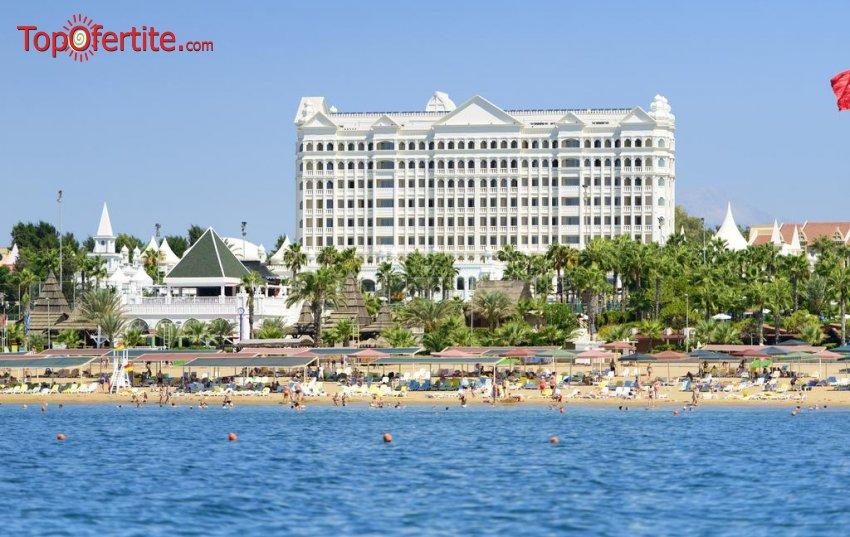 KAMELYA FULYA HOTEL 5 *, Сиде, Турция, първа линия! 4 или 7 нощувки на база ULTRA All Inclusive + самолет, летищни такси, трансфер на цени от 1034 лв на човек