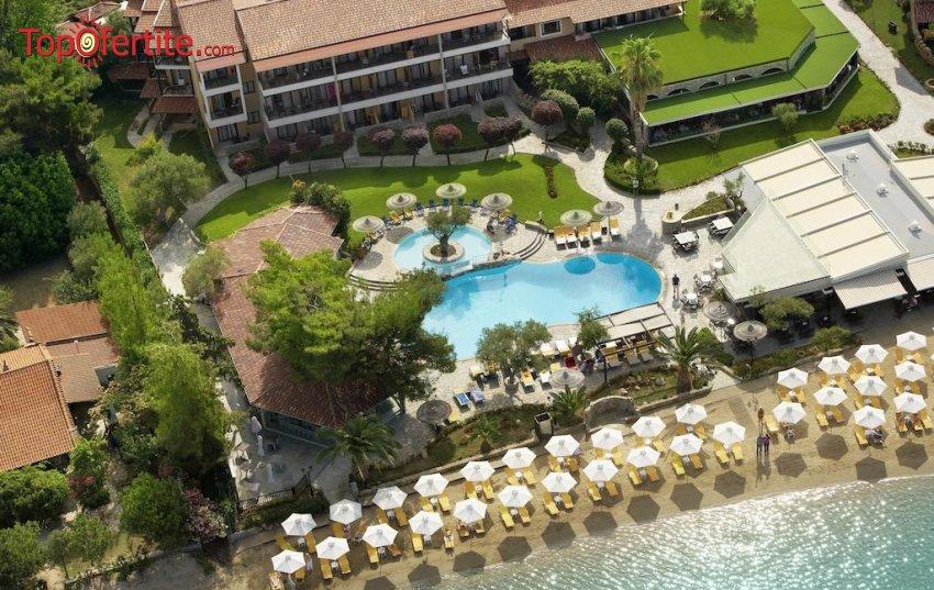 Anthemus Sea Beach Hotel & Spa 5*, Ситония, Халкидики! Нощувка + закуска, вечеря, басейн и безплатно дете до 11,99г. на цени от 111,80 лв на човек