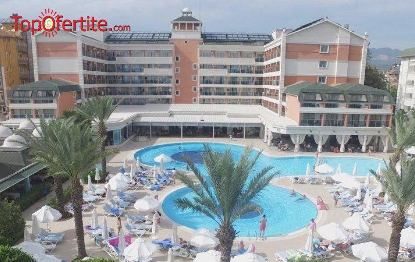 Club Insula Resort & SPA 5*, Алания, Турция! 4 или 7 нощувки на база ULTRA All Inclusive + самолет, летищни такси, трансфер на цени от 742,50 лв на човек