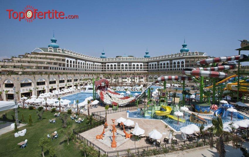 Crystal Sunset Luxury Resort & SPA 5*, Сиде, Турция! 4 или 7 нощувки на база ULTRA All Inclusive + самолет, летищни такси, трансфер на цени от 994,50 лв на човек