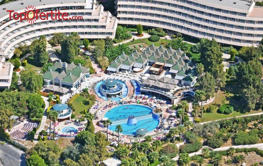 МАЙСКИ ПРАЗНИЦИ в хотел Grand Blue Sky 4*, Кушадъса, Турция! 7 нощувки на база ALL INCLUSIVE + басейн и безплатно дете до 13г. на цени от 349 лв на човек