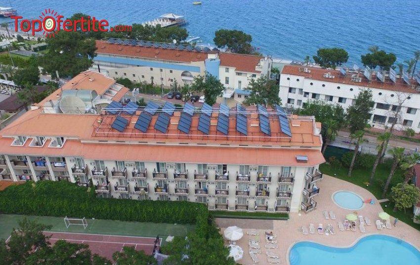 Rios Beach Hotel 4*, Кемер, Турция! 4 или 7 нощувки на база All Inclusive + самолет, летищни такси, трансфер на цени от 503,50 лв на човек