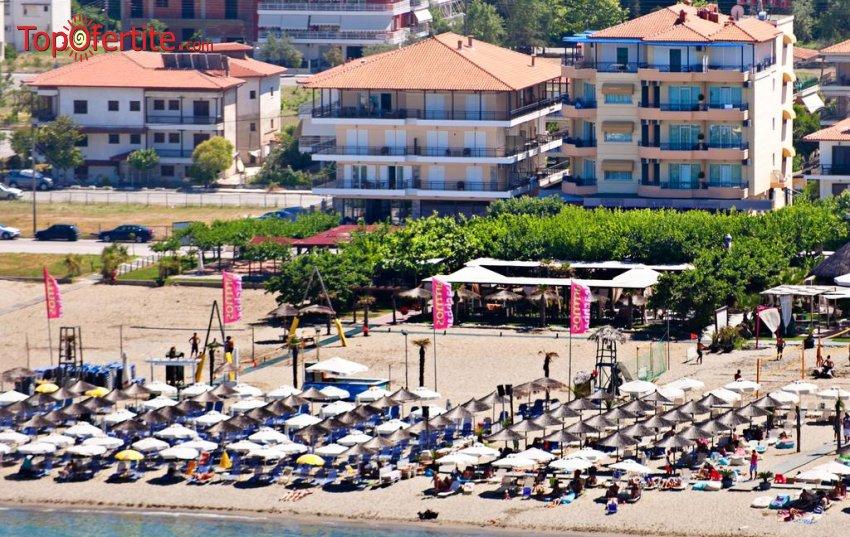 Olympic Star Beach Hotel 4*, Пиерия, Гърция! Нощувка + закуска и вечеря, басейн и безплатно дете до 11,99г на цени от 57.80 лв на човек