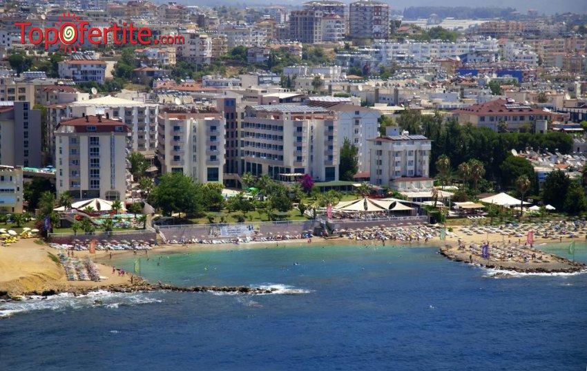Grand Sunlife 4*, Алания, Турция! 4 или 7 нощувки на база All Inclusive + самолет, летищни такси, трансфер на цени от 646.50 лв на човек