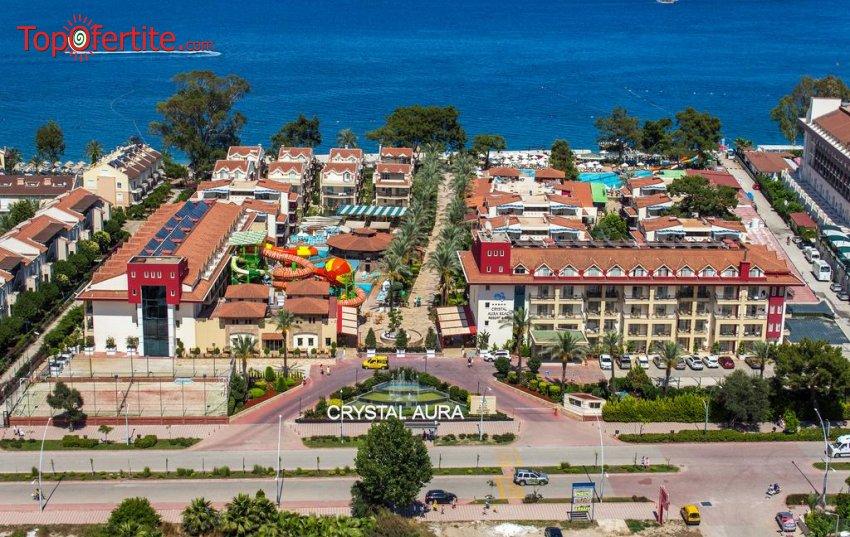 Crystal Aura Beach Resort & Spa 5 * Кемер, Турция, първа линия! 4 или 7 нощувки на база Ultra All Inclusive + самолет, летищни такси, трансфер на цени от 846 лв на човек