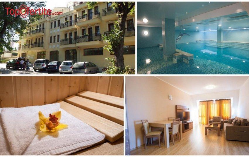 Хотел Си комфорт, Хисаря - Уикенд! 2 нощувки в студио или апартамент + закуска, мин. басейн и СПА пакет на цени от 100 лв. на човек