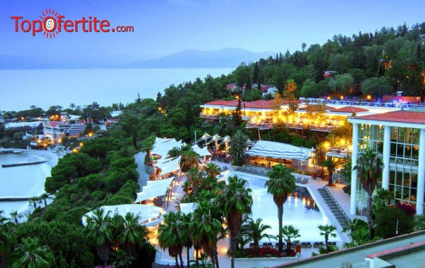 Хотел Pine Bay Holiday Resort 5*, Кушадасъ, Турция за 22-ри Септември! 7 нощувки на база All Inclusive + анимация и аквапарк само за 599 лв на човек