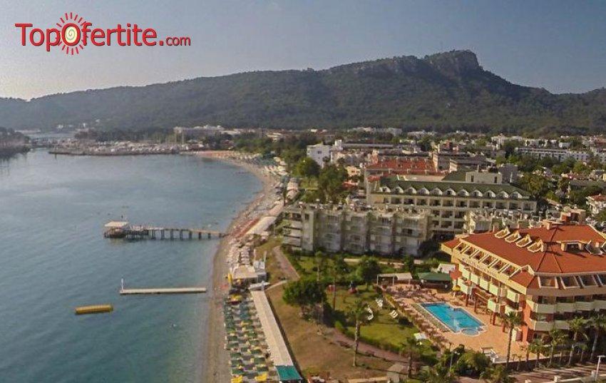 Valeri Beach Hotel 4*, Кемер, Турция! 4 или 7 нощувки на база All Inclusive + самолет, летищни такси и трансфер на цени от 568.50 лв на човек