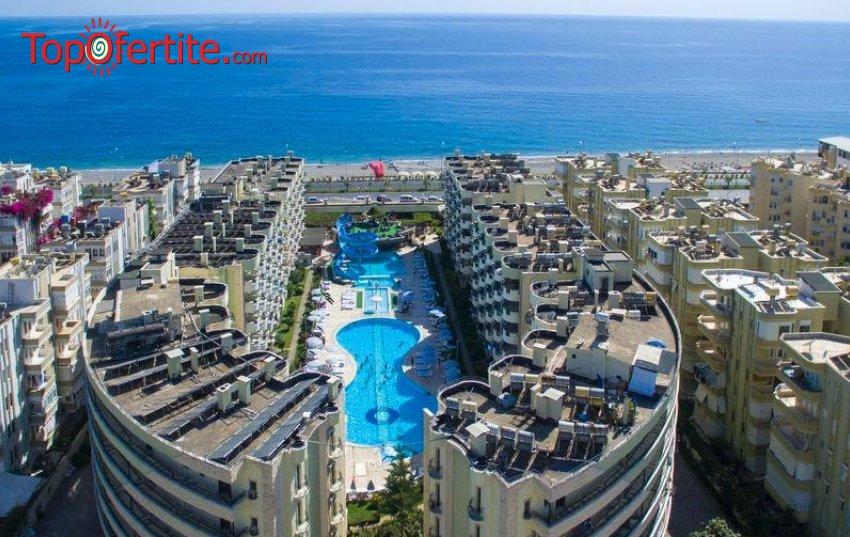 May Garden Club Hotel 4*, Алания, Турция! 4 или 7 нощувки на база All Inclusive + самолет, летищни такси и трансфер на цени от 455 лв на човек
