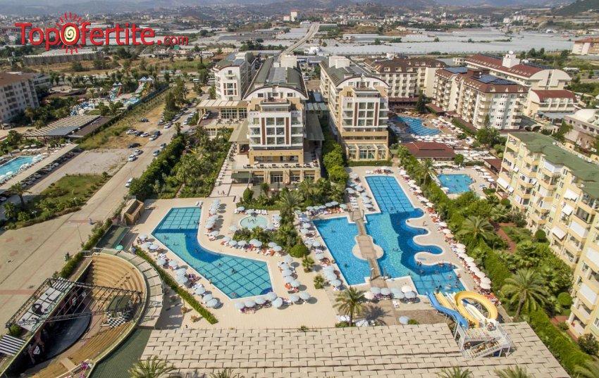 Hedef Resort Hotel & Spa 5 *, Алания, Турция, първа линия! 4 или 7 нощувки на база Ultra All Inclusive + самолет, летищни такси, трансфер на цени от 572 лв на човек