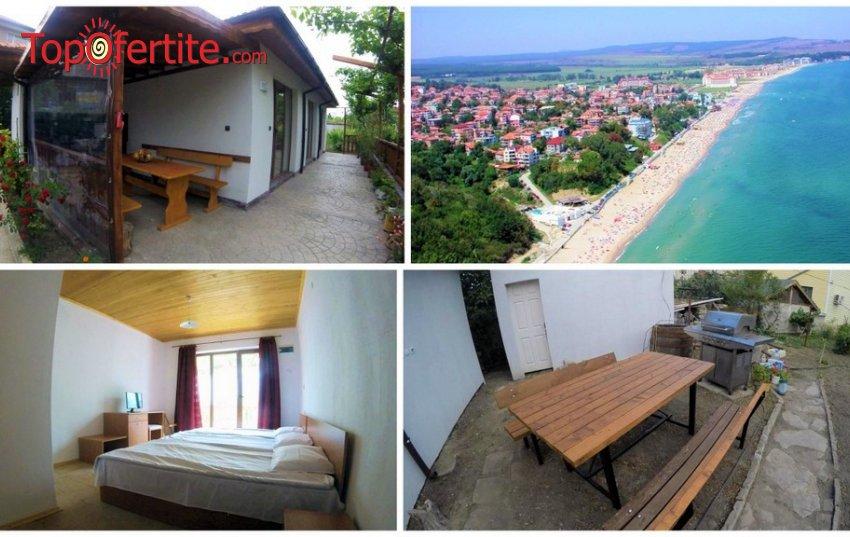 Къща за гости Анастасия гр. Обзор на 10 минути от плажа! Наем на цяла оборудвана къща + лятна кухня, барбекю, паркомясто и релакс зона за до 8 човека на цени от 125 лв.
