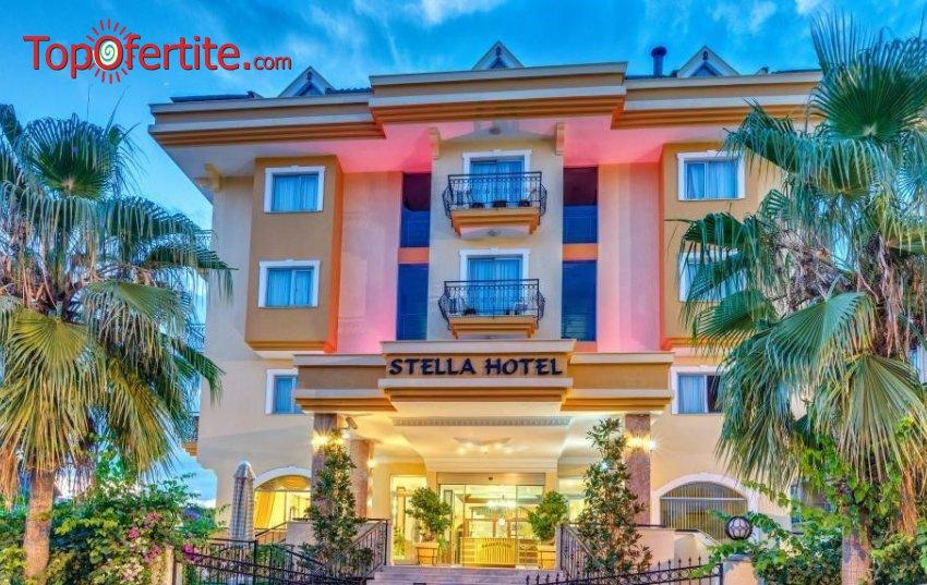 Stella Hotel 4*, Кемер, Турция! 4 или 7 нощувки на база All Inclusive + самолет, летищни такси, трансфер на цени от 607.50 лв на човек