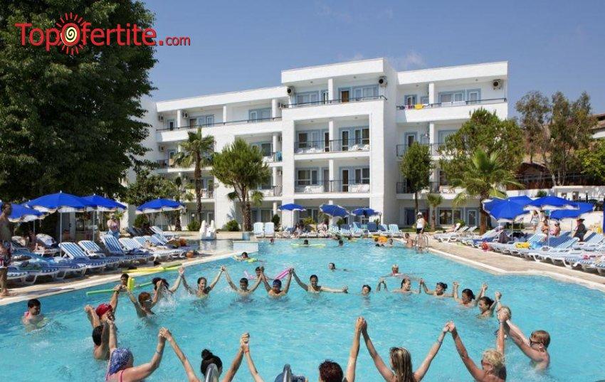 Larissa Beach Club Side 4*, Сиде, Турция! 4 или 7 нощувки на база All Inclusive + самолет, летищни такси, трансфер на цени от 713 лв на човек