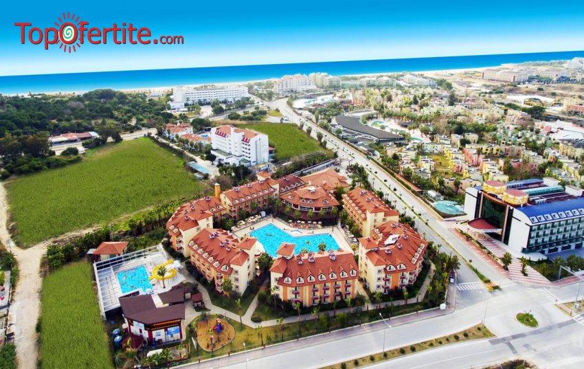 Orfeus Pak Hotel 4*, Сиде, Турция! 4 или 7 нощувки на база All Inclusive + самолет, летищни такси и трансфер на цени от 619 лв на човек