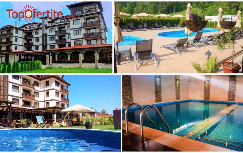 Хотел Алегра 3*, Велинград през Лятото! Нощувка + закуска, вечеря, външен и вътрешен минерален басейн, джакузита и СПА пакет на цени от 52 лв. на човек