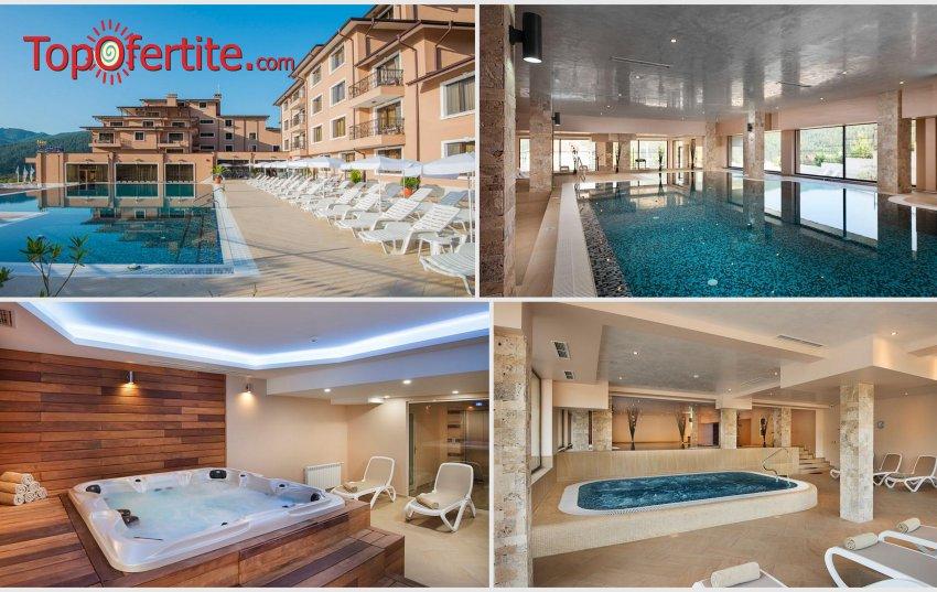 Хотел Вела Хилс 4*, Велинград през Лятото! Нощувка + закуска, вечеря и открити и закрити басейни, джакузита и СПА пакет за 95 лв. на човек