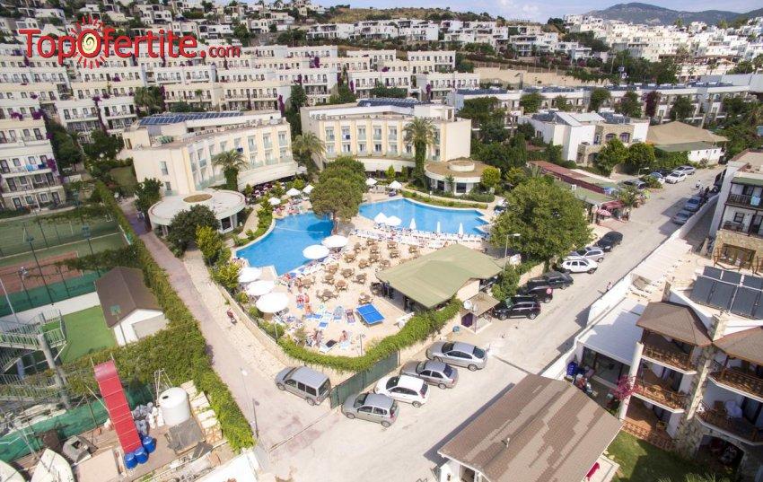 Ayaz Aqua Hotel 4*, Бодрум, Турция през Септември! 4 или 7 нощувки на база All Inclusive на цени от 353 лв на човек