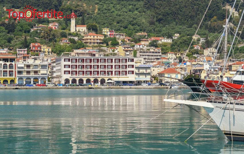 Strada Marina Hotel 4*, Закинтос, Гърция! Нощувка + закуска, басейн и безплатно за дете до 11,99г. на цени от 44,50 лв на човек