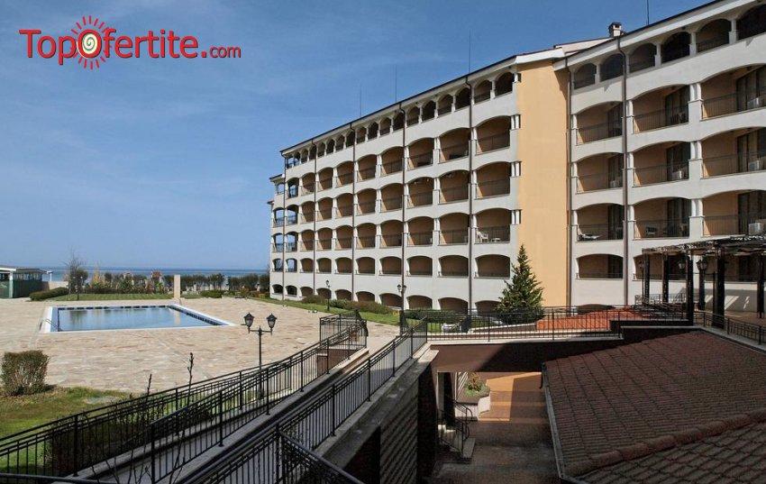 Хотел Regina Beach 3*, гр. Царево, къмпинг Нестинарка! 1 нощувка + басейн, шезлонг и опция за закуска и вечеря на цени от 25 лв. на човек